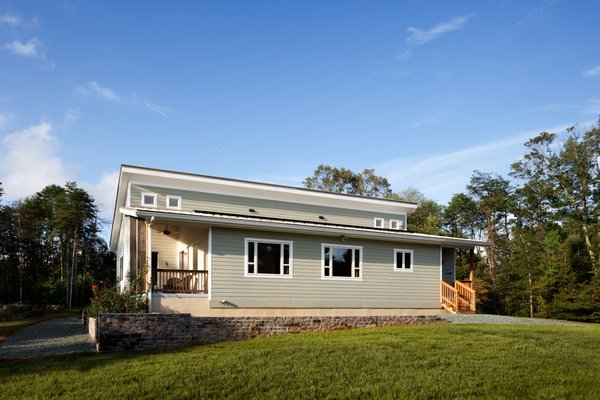 Prefabricated net-zero home by Deltec Homes Photo 11 of Net-Zero Prefab Home modern home