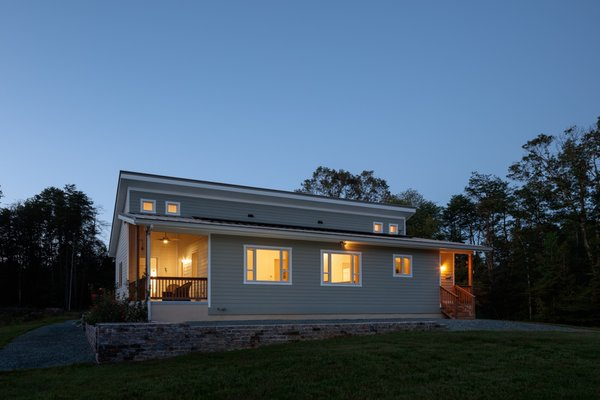 Prefabricated net-zero home by Deltec Homes #deltechomes #prefab #netzero Photo 6 of Net-Zero Prefab Home modern home