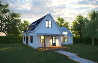 Deltec Homes Introduces Two New Models, Including Modern Farmhouse - Photo 3 of 4 - Solar Farmhouse