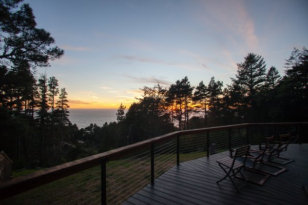Perfect view of the Pacific Ocean Photo 7 of Round House in Wine Country modern home