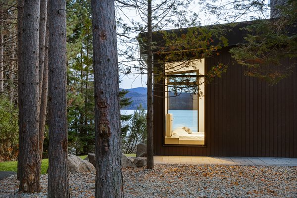 Photo  of Modern Lake Cabin modern home