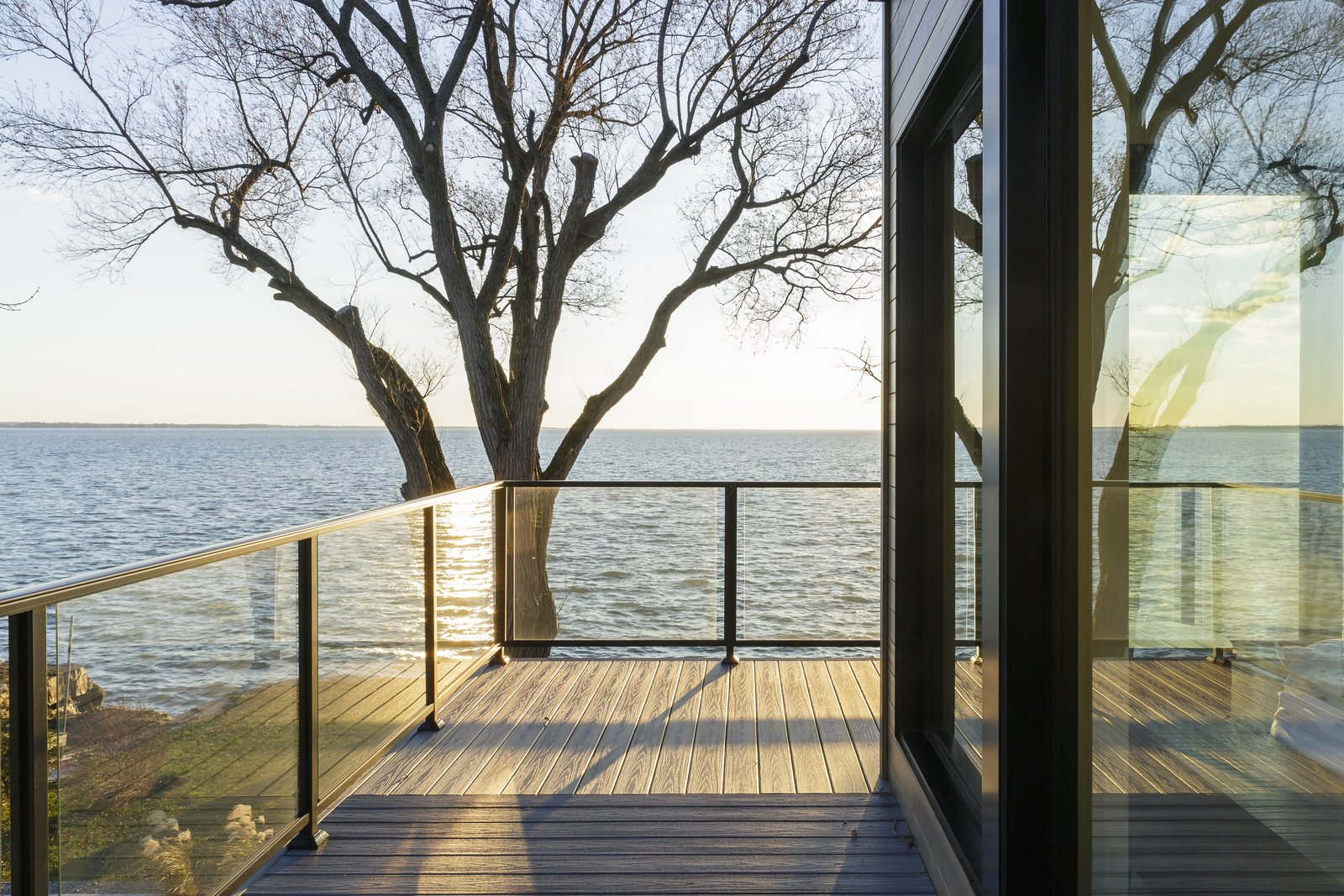 Lake St-Francis Residence by BONE Structure