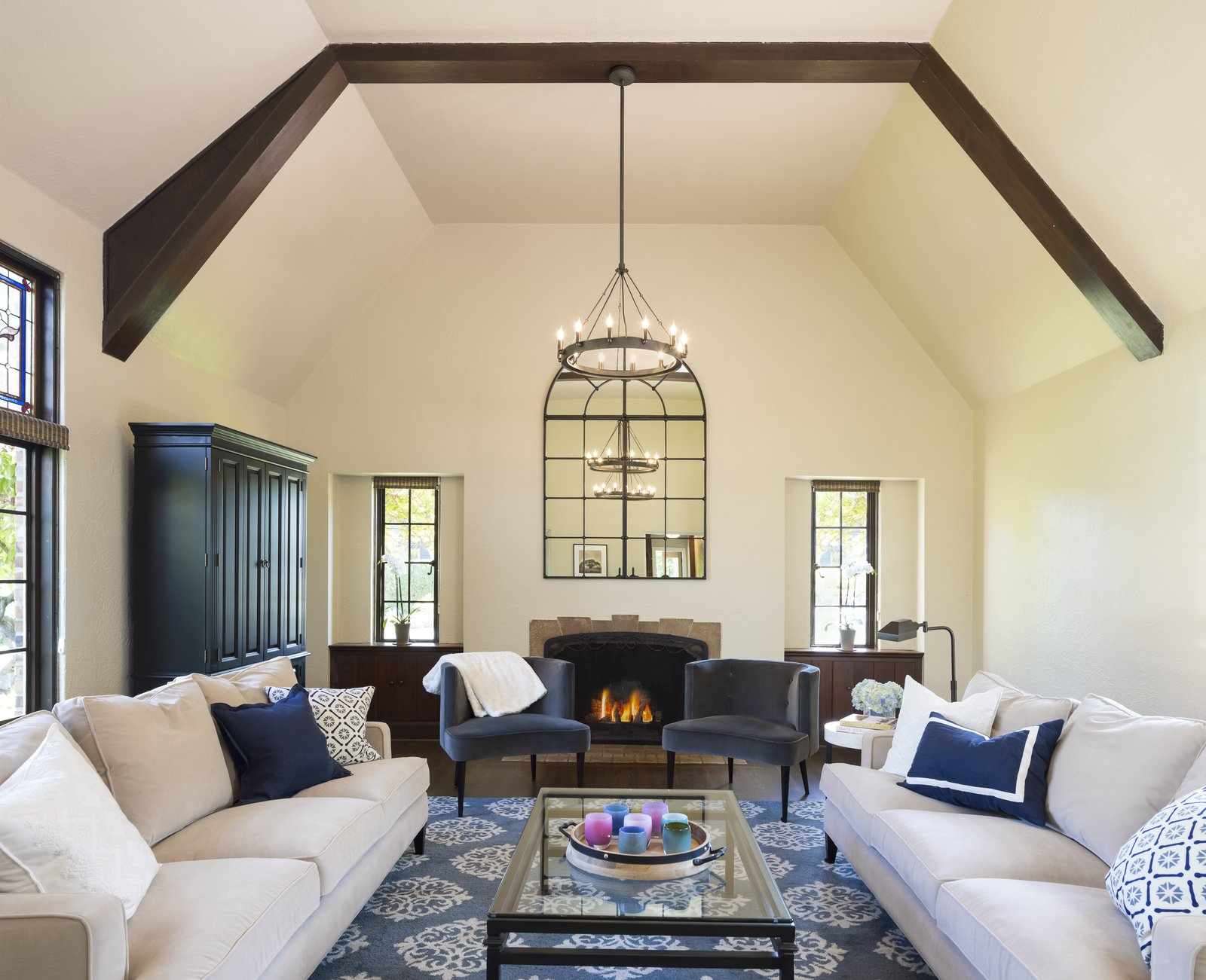 Living Spaces We Love by Model Remodel from Boeing Castle in Seattle's Blue Ridge Neighborhood Taken to New Heights