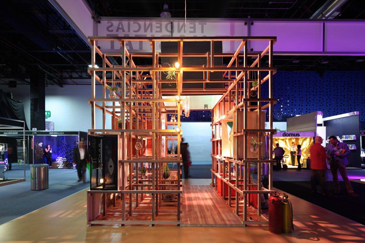 Pabellón Tendencias Hábitat 2014 by Germán Velasco Arquitectos