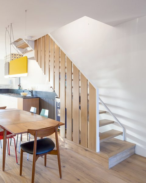 Dining and staircase to second floor
