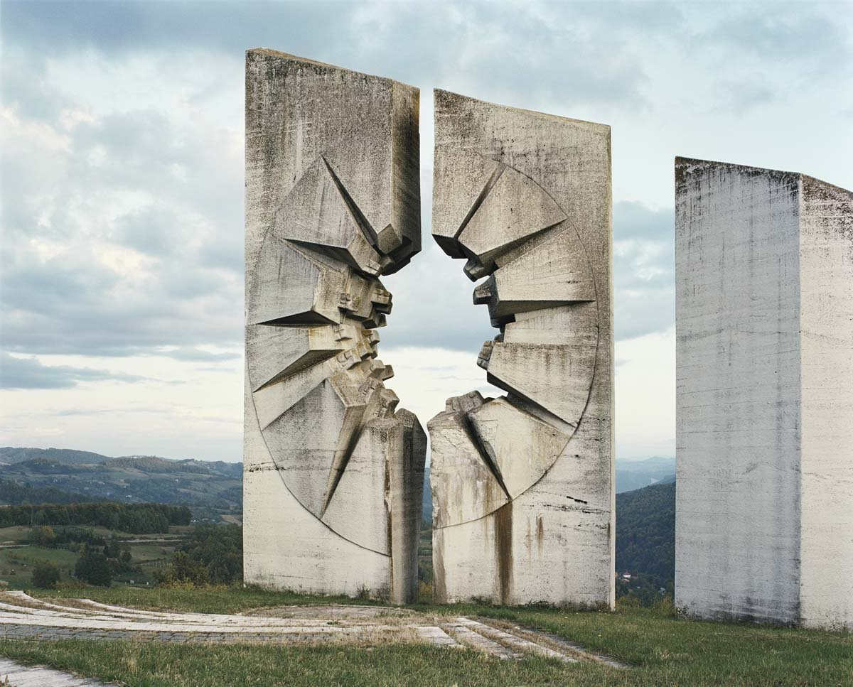 The Kadinjača Memorial Complex  Brutes by Deam + Dine