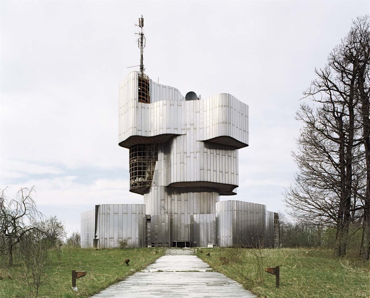Petrova Gora Monument, by Vojin Bakić (1982) Brutes by Deam + Dine