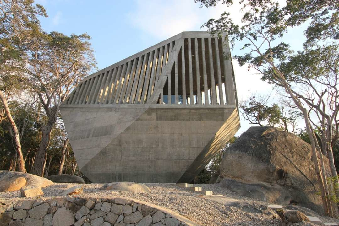 Sunset Chapel by Bunker Arquitectura, Guerrero, Mexico
