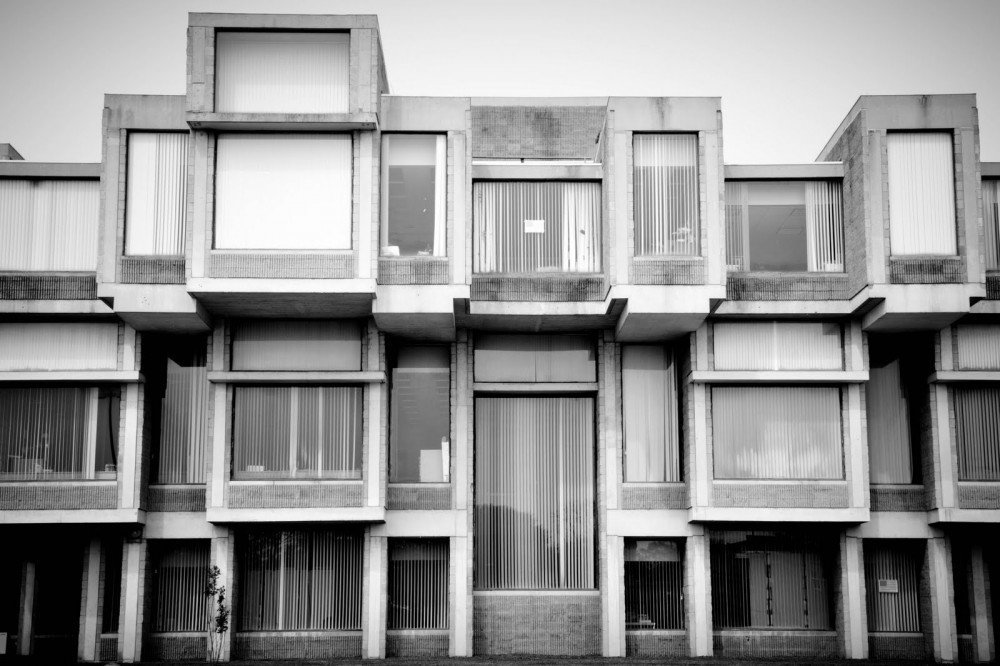 Government building, Goshen, New York-architect Paul Rudolph  Brutes by Deam + Dine