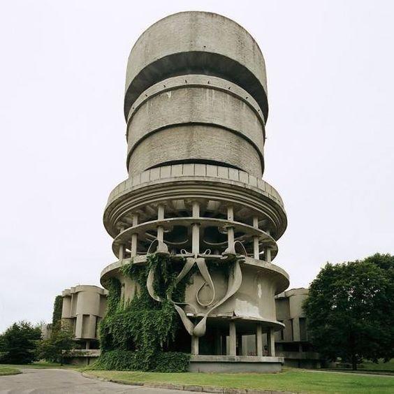 Balneological Hospital, Druskinninkai, Lithuania (demolished)