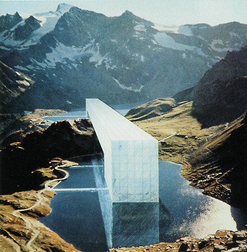 Continuous Monument and 12 Ideal Cities by Superstudio 1969-1972 by Deam + Dine
