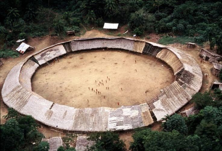yanomami tribe Architecture without Architects by Chris Deam