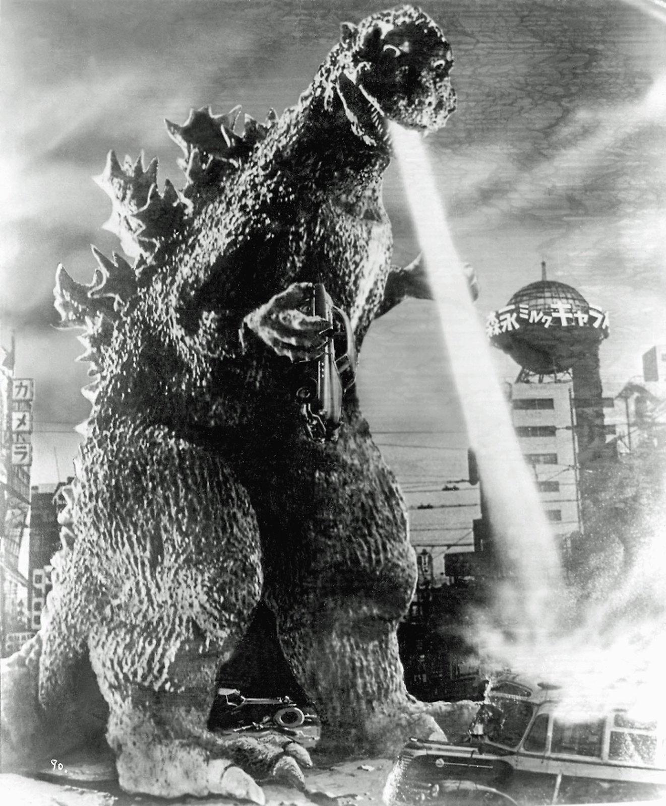 Godzilla hates architecture!  Metabolist Architure by Chris Deam
