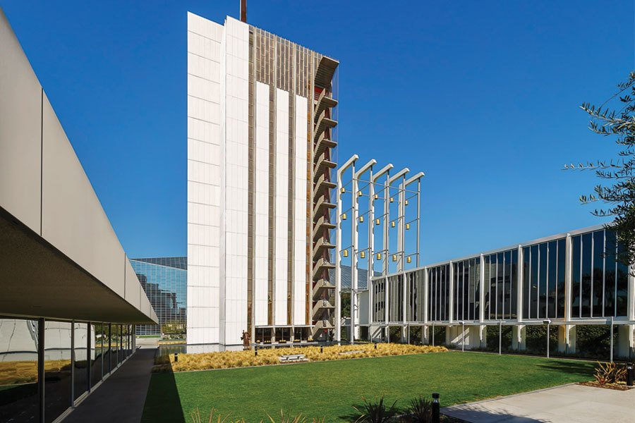 Tower of Hope, Christ Cathedral  Citation of Technical Achievement  The original building by Richard Neutra successfully upgraded for seismic activity. The jury felt that this project could serve as a model for other historical buildings facing the same challenge.