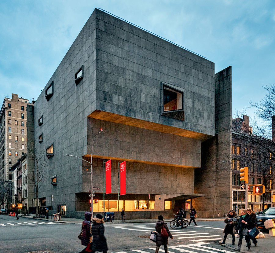 The Met Breuer  Design Citation of Merit, Civic/Institutional  The renovated efforts maintain Marcel Breuer's iconic masterpiece.   Greatness Restored: The 2016 Modernism in America Awards by Nia Hampton