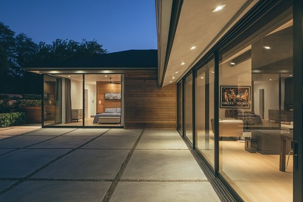 Modern home with outdoor and pavers patio, porch, deck. Photo 12 of Crestline