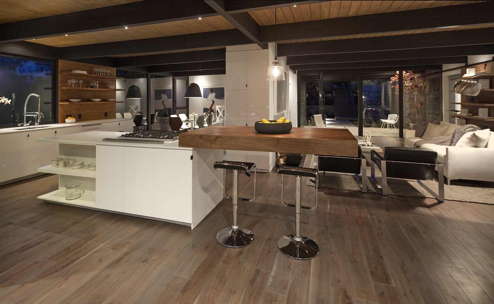 Tagged: Kitchen, Engineered Quartz Counter, Recessed Lighting, and Medium Hardwood Floor.  Paseo Ferrelo by ANACAPA