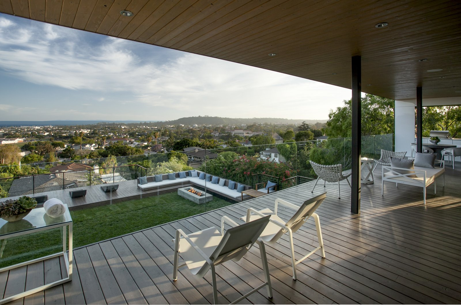 Tagged: Outdoor, Grass, Large Patio, Porch, Deck, and Wood Patio, Porch, Deck.  Paseo Ferrelo by ANACAPA