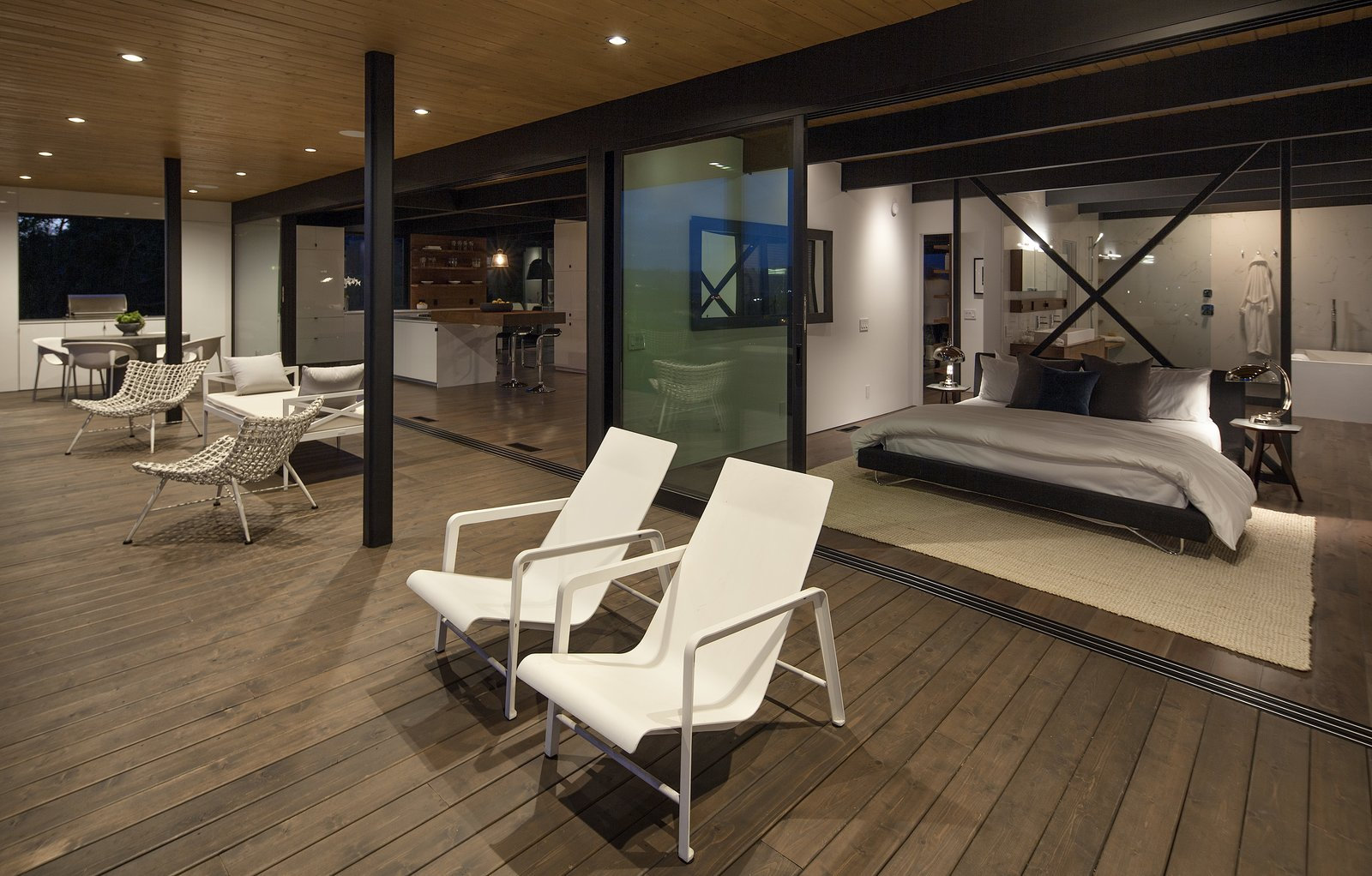 Tagged: Outdoor, Large Patio, Porch, Deck, and Wood Patio, Porch, Deck.  Paseo Ferrelo by ANACAPA