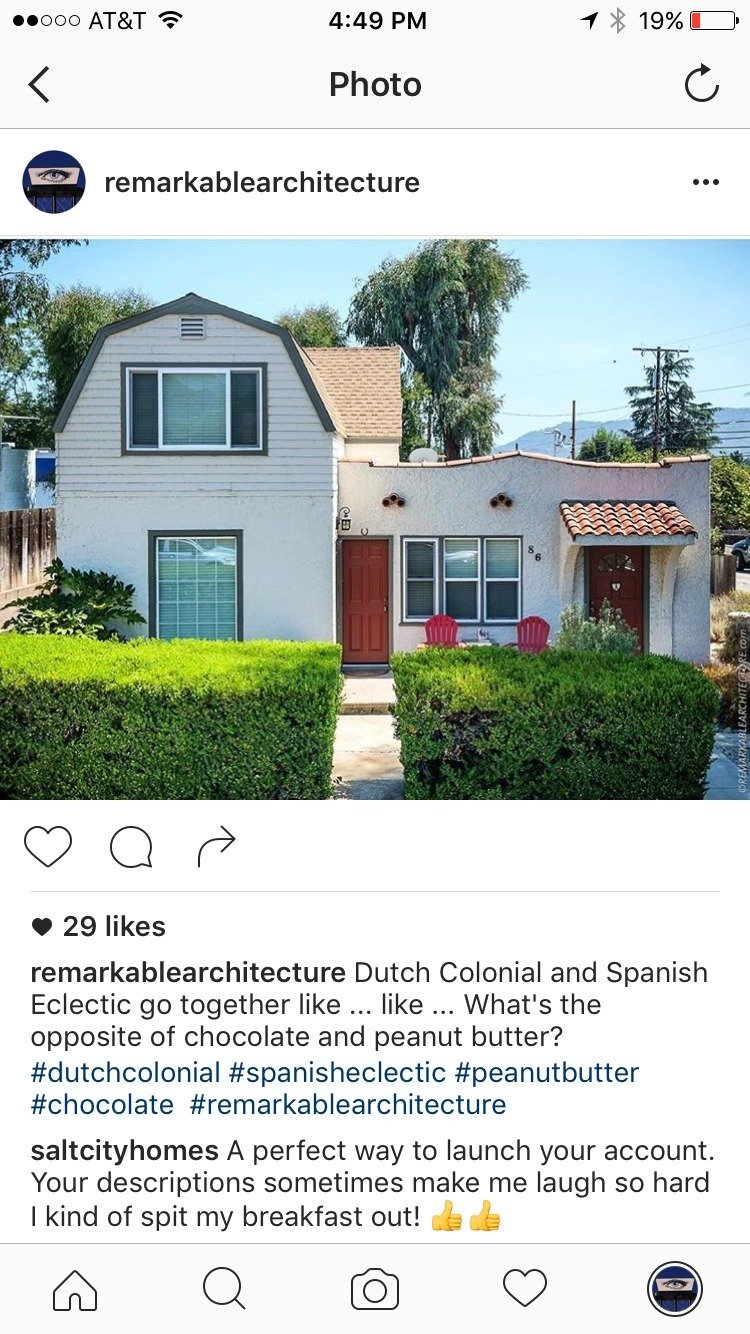 Our first post.  I guess Spani-Dutch Colonials are the gateway drug to McMansions, Sprutalists, Archie Bunkers, mocktorians and garagemahals  There is no 'I' in Archetect by Remarkablearchitecture