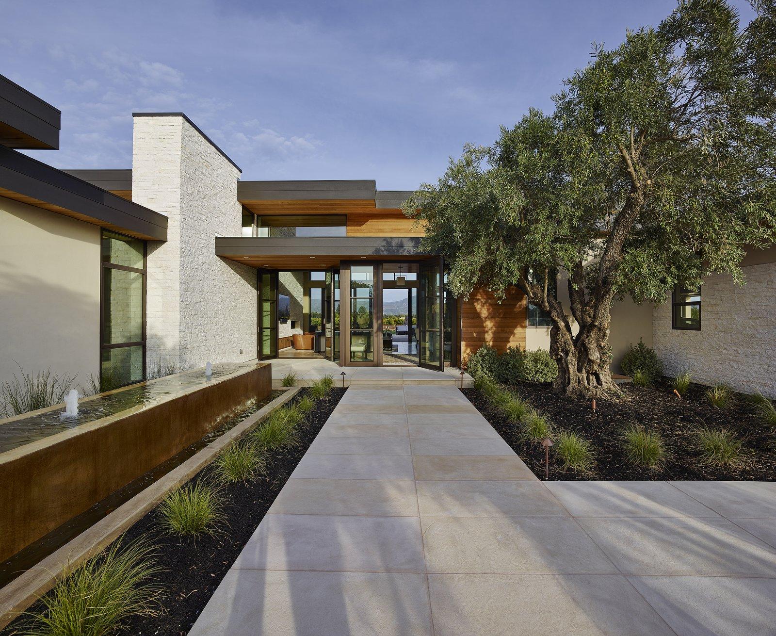 Modern Residence Entry