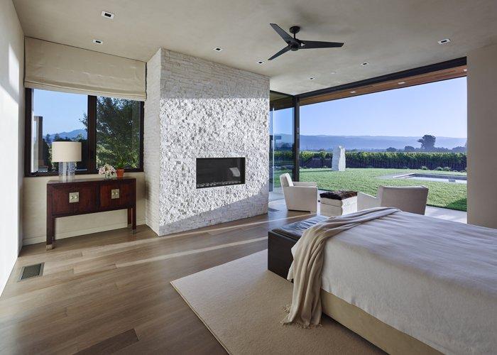 Modern Residence Master Bedroom