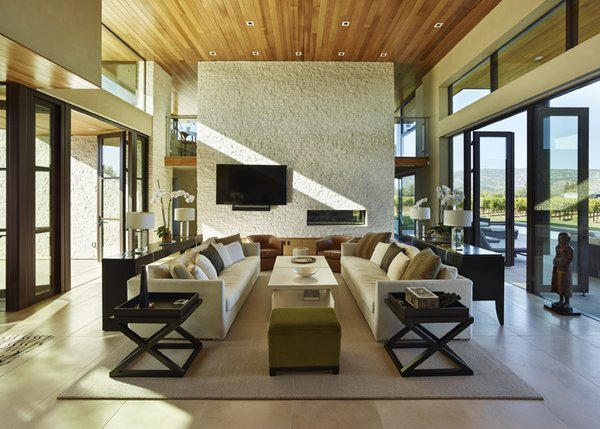 Modern Residence Great Room Photo  of Modern Tranquility modern home