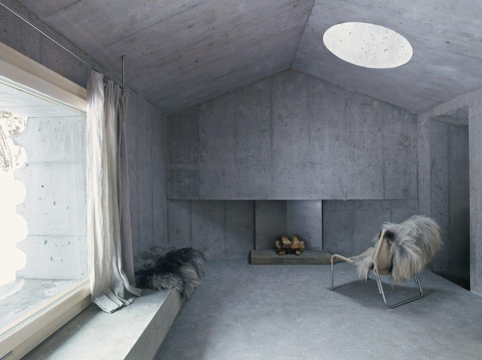 #alpinemodern #design #lifestyle #modern #elevatedliving #quiestdesign #refugeinconcrete #concrete   Photo courtesy of Gaudenz Danuser  Refuge in Concrete by Alpine Modern