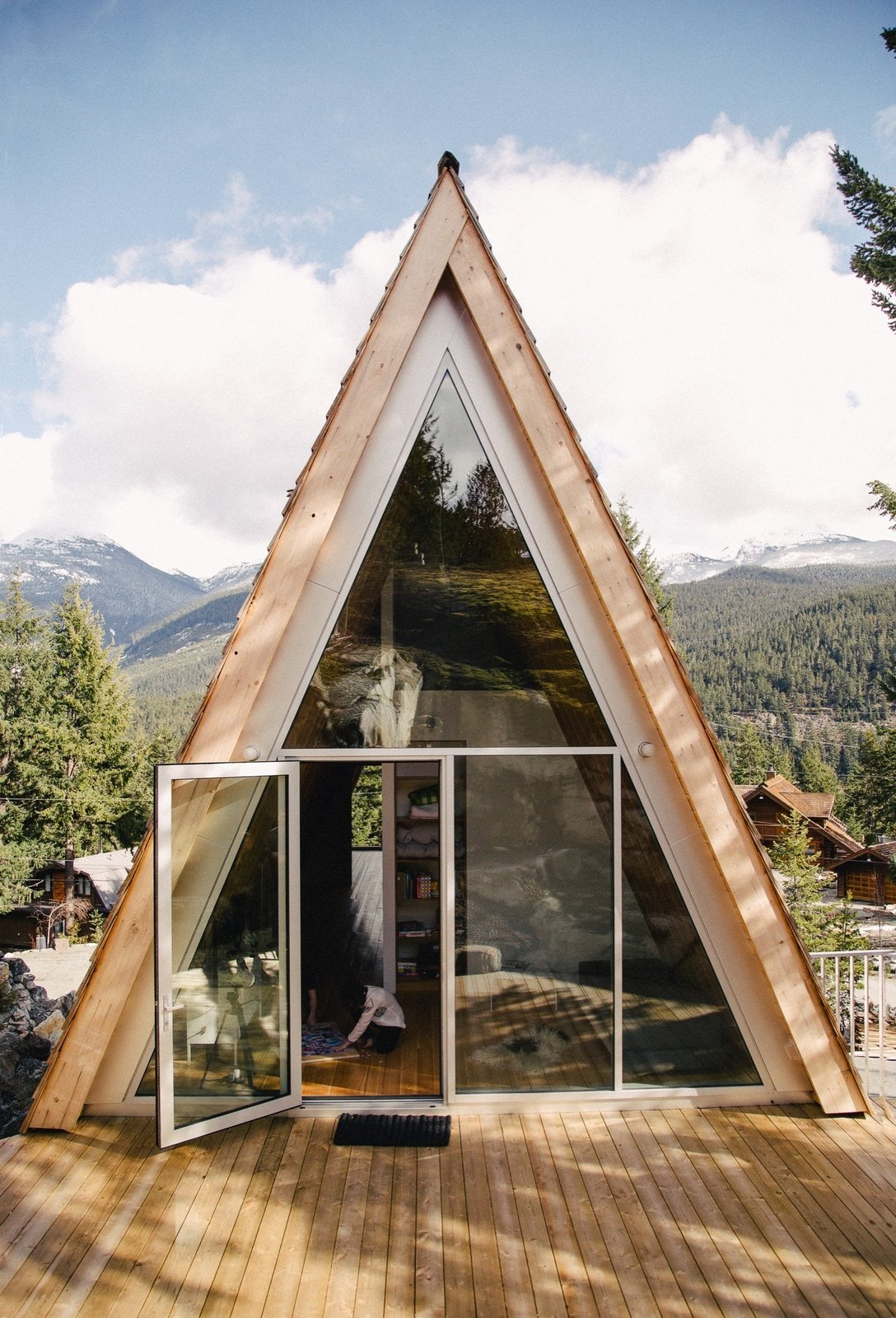 Cabin by DAVE MORIN from A Whistler A-Frame