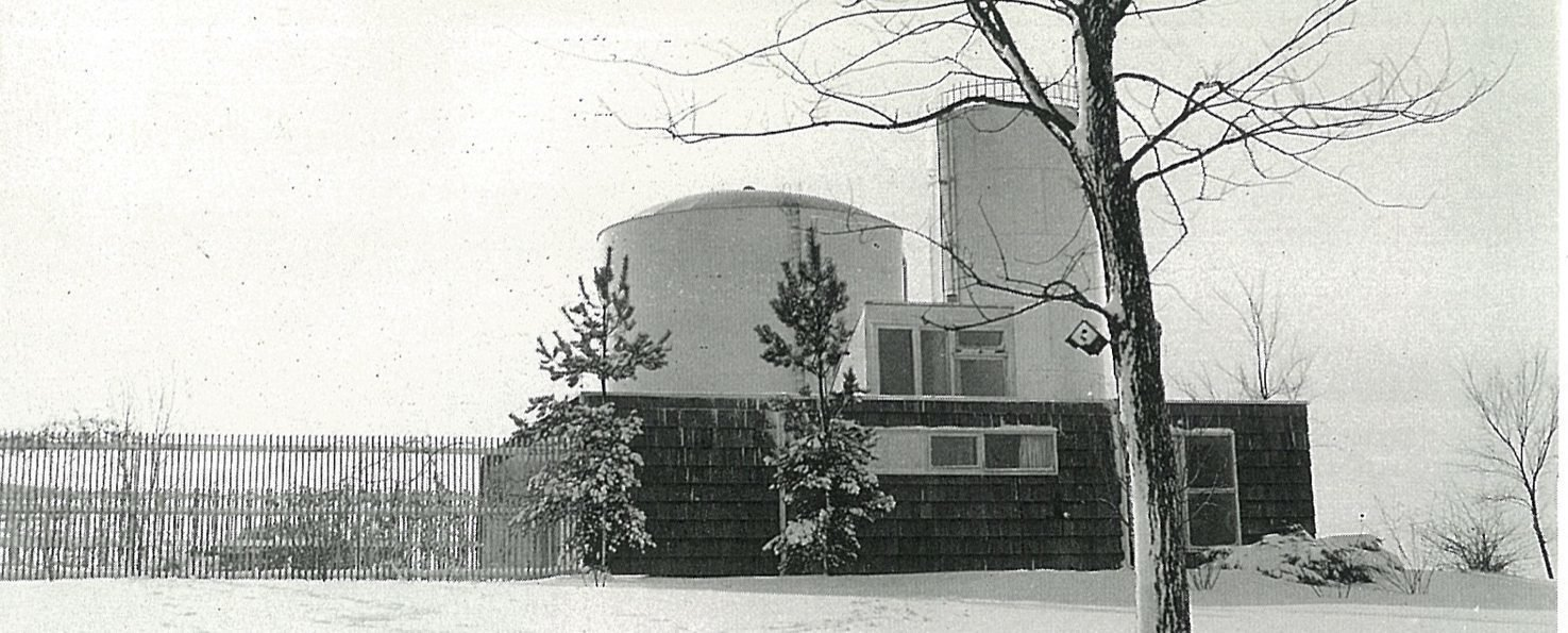 One of his early works, Harry Weese designed the Water Tower House (named for its overbearing backdrop) so his family could escape the big metropolis on weekends and holidays.