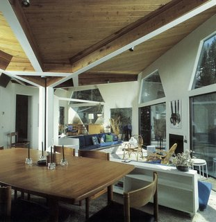 How American Modernism Came to the Mountains - Photo 20 of 20 - Harry Weese's Baird House, Aspen, Colorado — interior