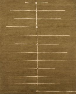 Stem rug from Marcia Weese's Prairie Collection