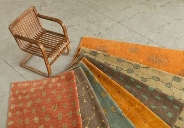 Flora Collection of rugs by Marcia Weese