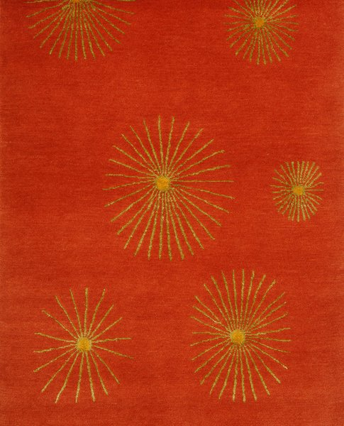 Flower rug / Flora Collection by Marcia Weese