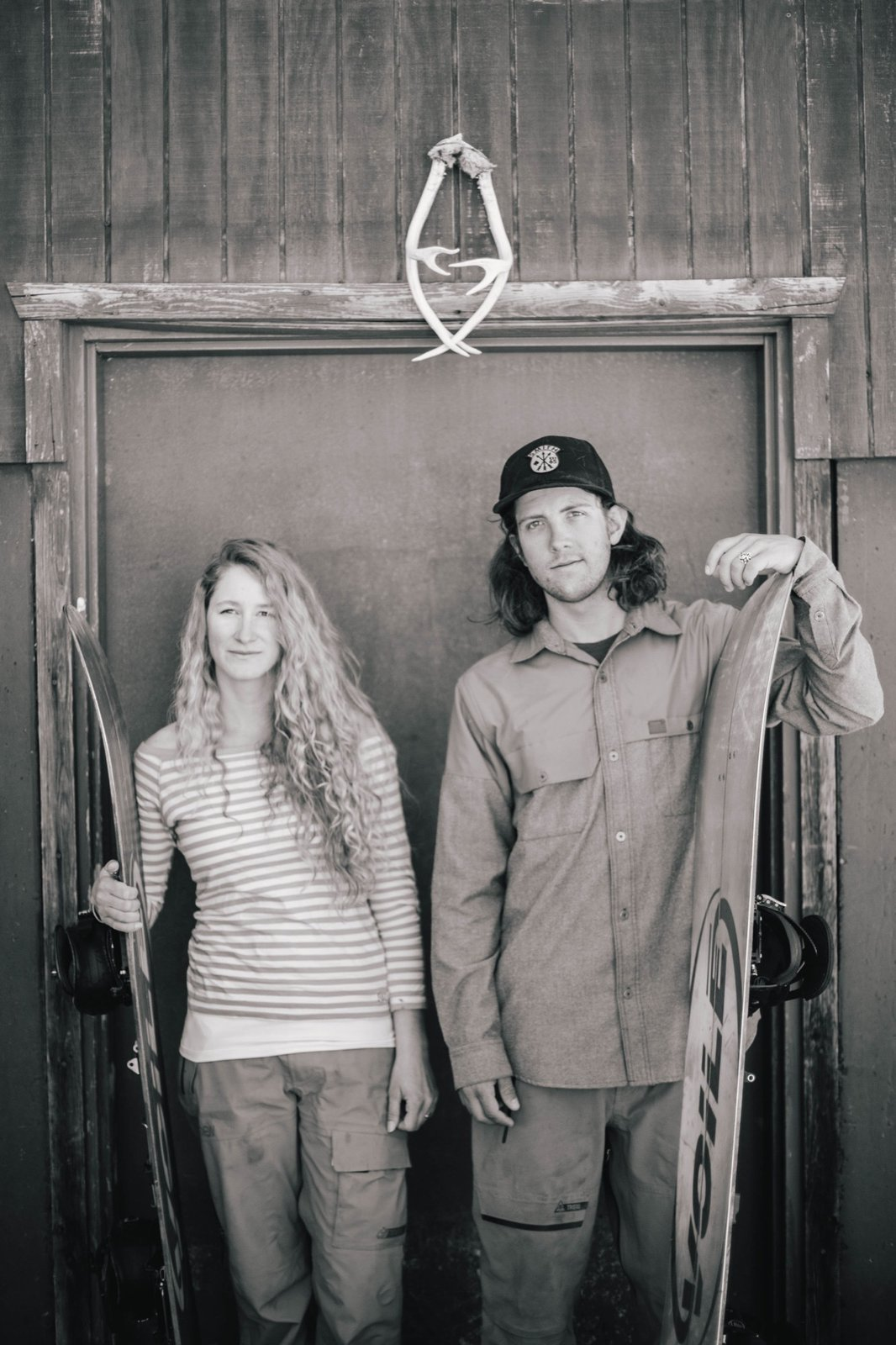 Zach and Cindi Lou Grant‒extreme athletes, high-school sweethearts, and DIY cabin builders  Photo 3 of 10 in Backcountry Haven