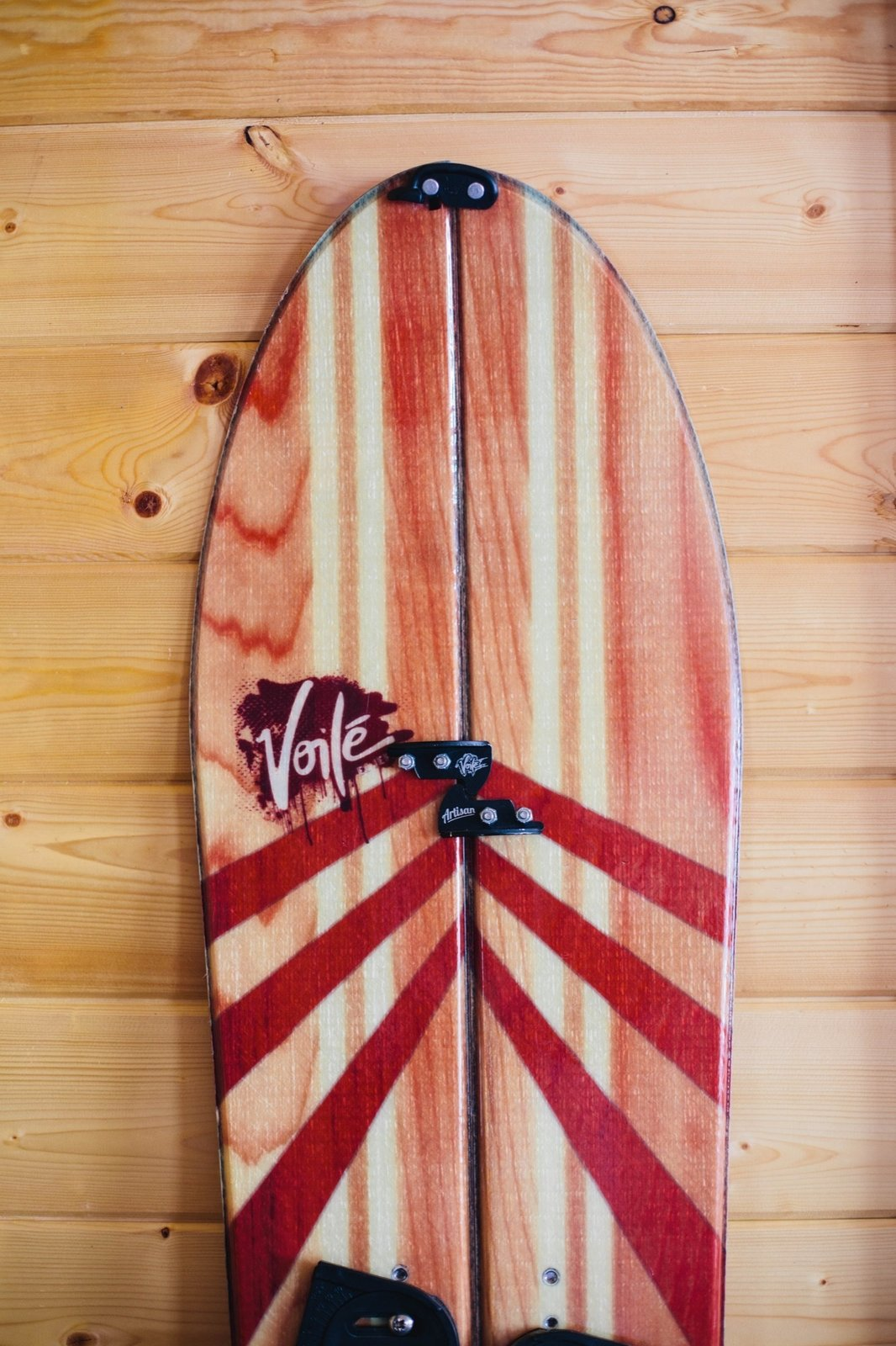 One of the Grants' splitboard