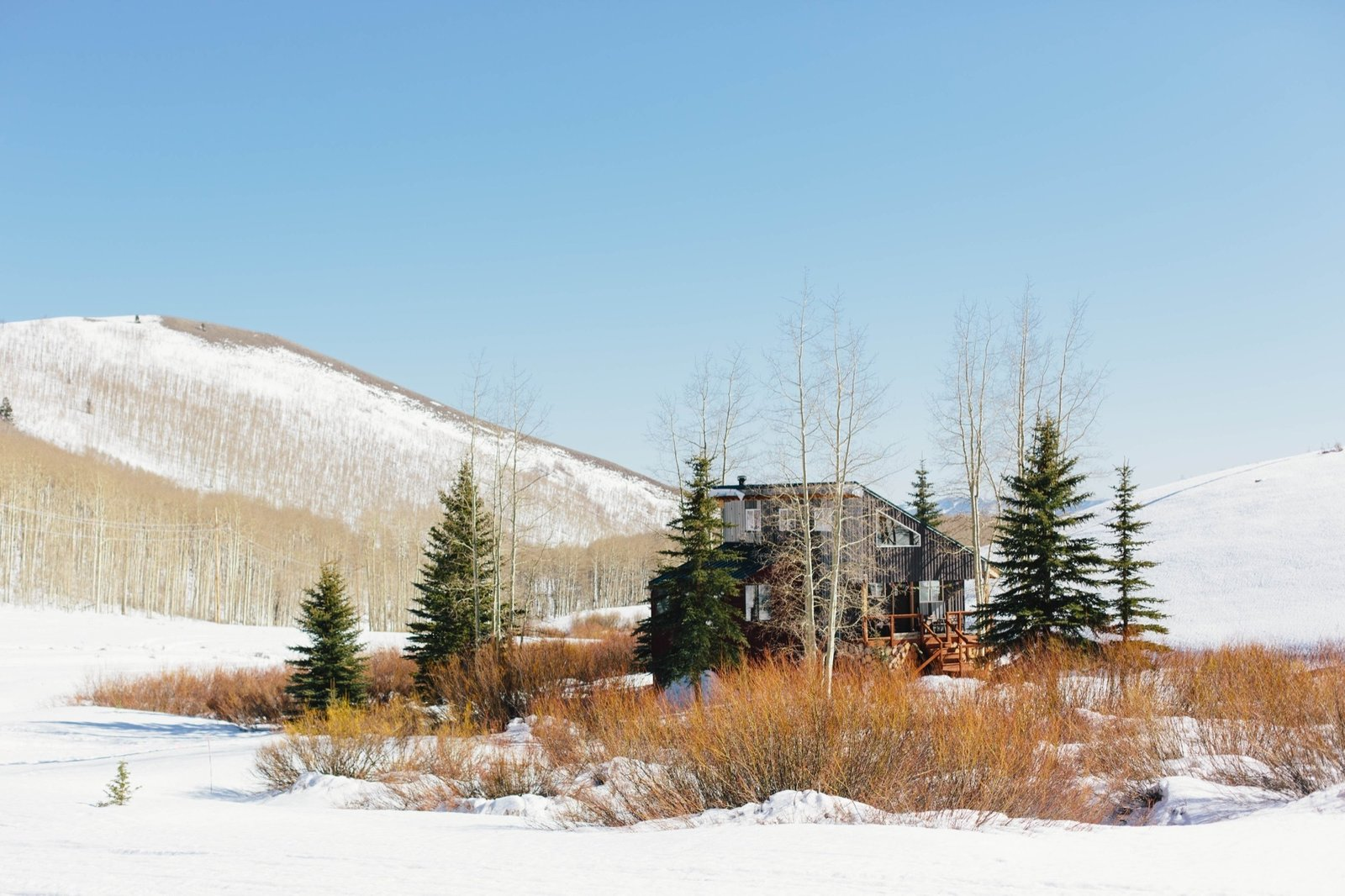 After a two-year search, the couple finally found the perfect place for their permanent base camp amid backcountry terrain on the Wasatch Back in the Rocky Mountains of Utah  Photo 5 of 10 in Backcountry Haven