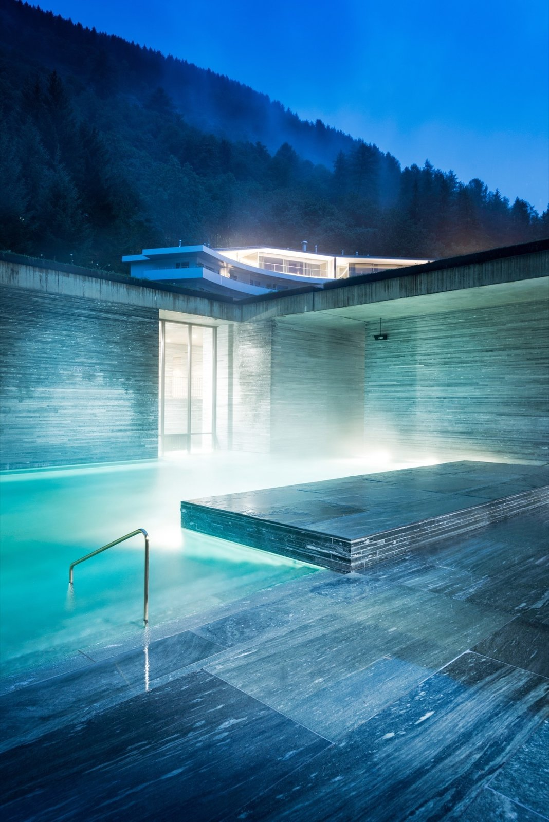 Therme Vals / Designed by architect Peter Zumthor  Photo 5 of 12 in Slow Architecture