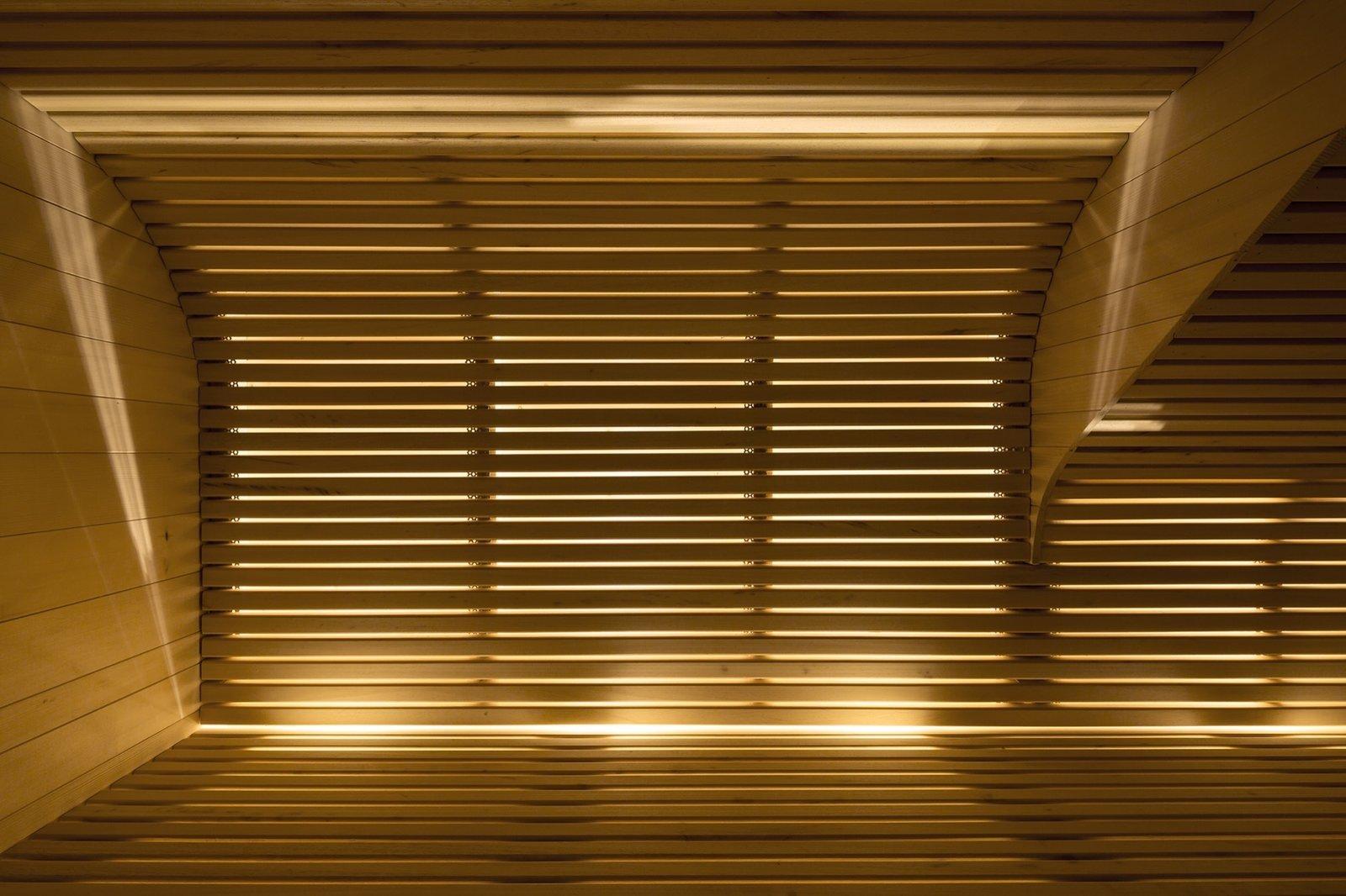 Sauna detailing