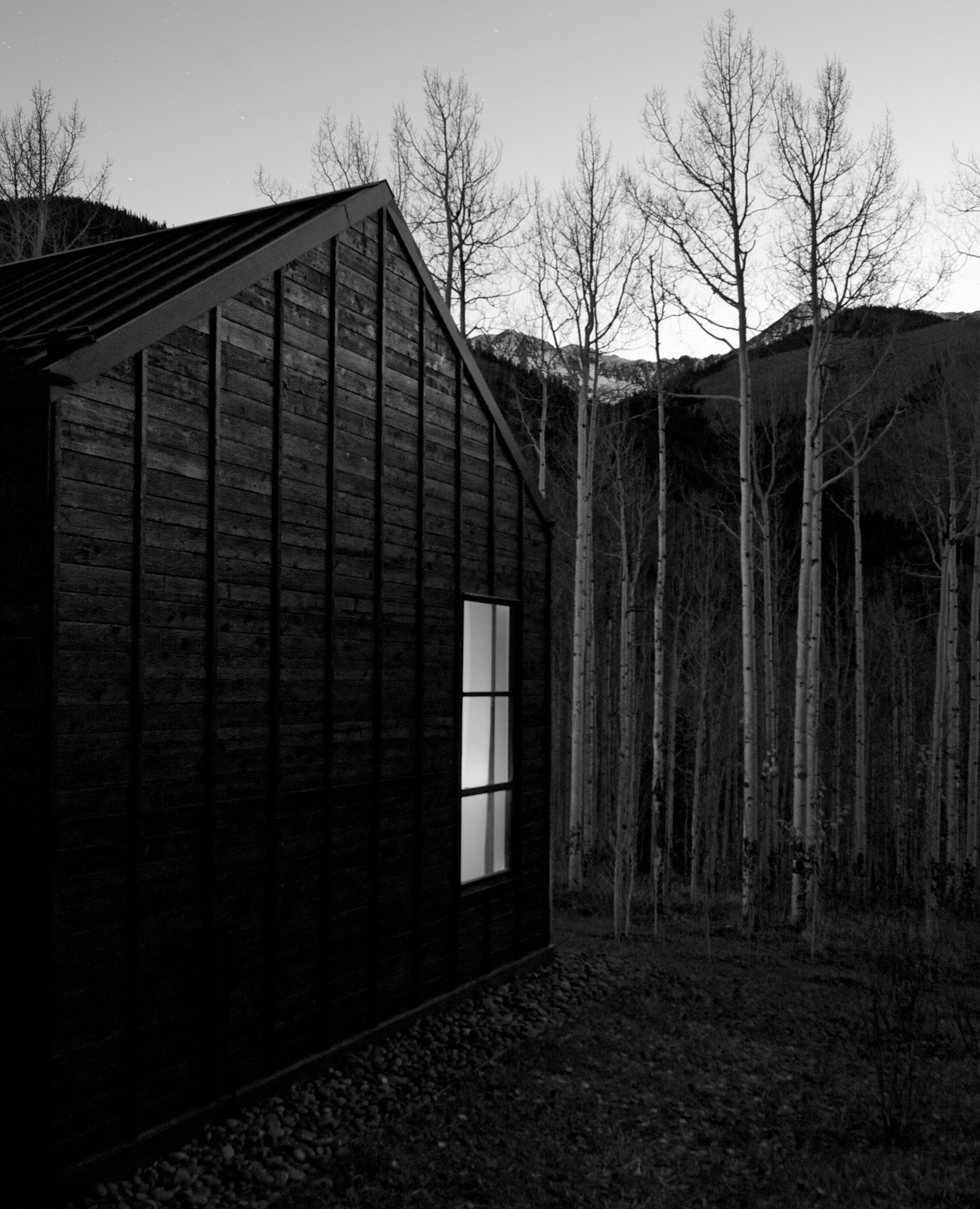 Black and white, shadow and light Retreat in the Aspen Grove - Photo 5 of 13