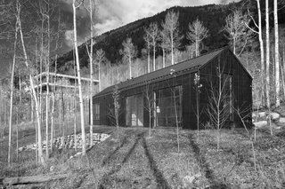 Retreat in the Aspen Grove - Photo 1 of 12 - Cottage Black in nestled in the aspen grove below the main house.