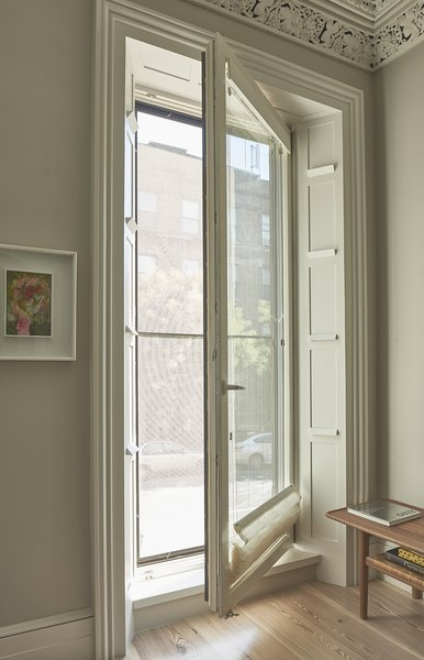 Zola's triple-glazed Thermo Clad windows and doors in FCS-certified pine.  http://www.zolawindows.com/thermoclad/ Photo 2 of Carroll Gardens Passive House modern home