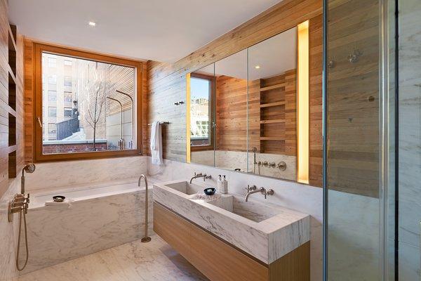 Custom bathroom Photo 4 of An Historic TriBeCa Building Reborn modern home