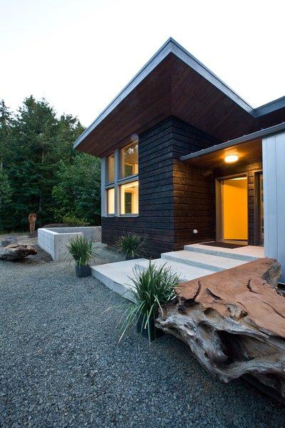 Modern home with windows, wood, and casement window type. Photo 3 of Cedar Haus