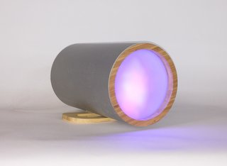 Bacteria take a Bite out of Messy Manufacturing of High End Products - Photo 4 of 4 - The Nebula Light by Modify Furniture