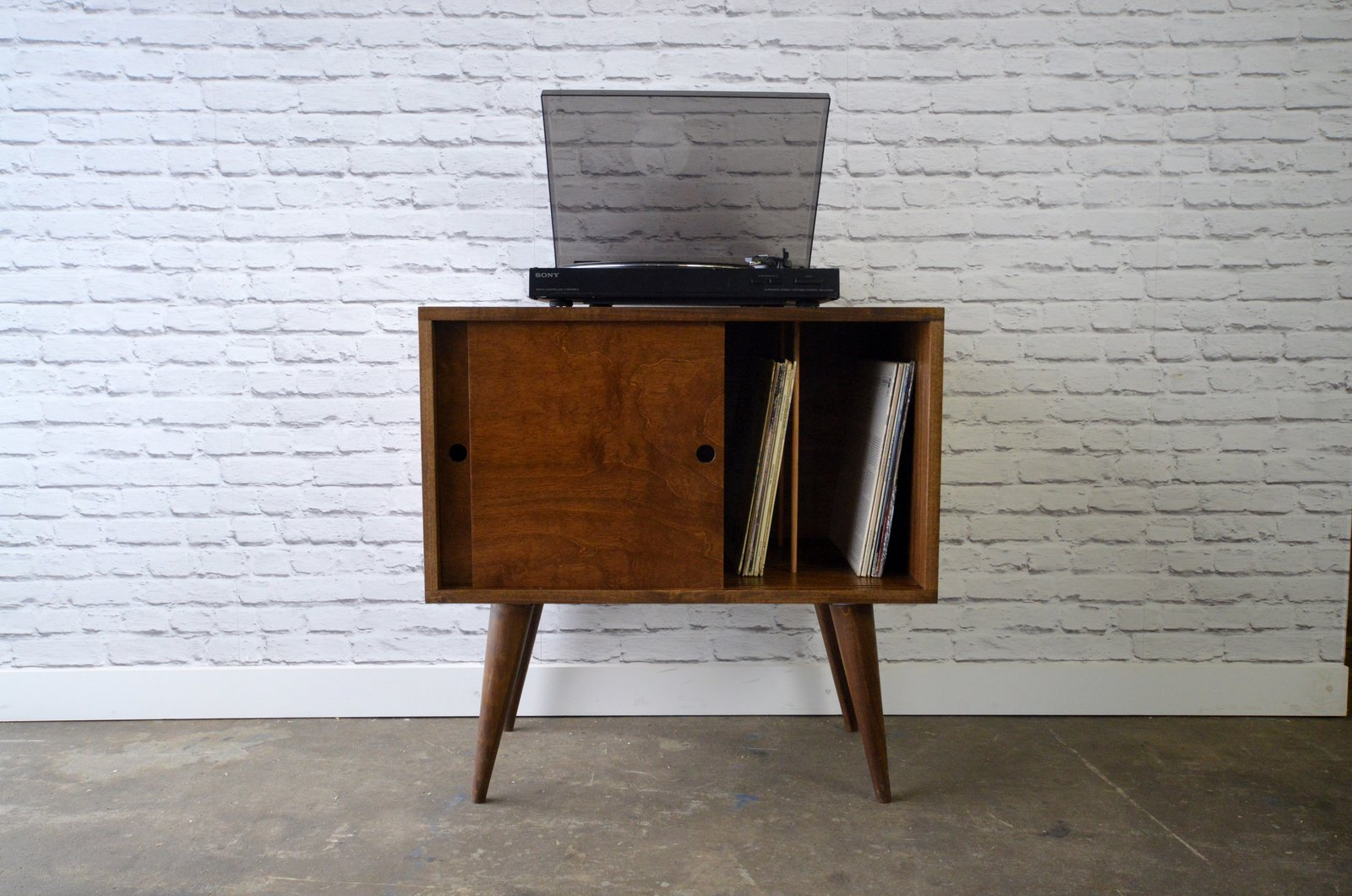 Eiden record cabinet  Credenzas & TV Stands by STOR New York - Handmade Furniture