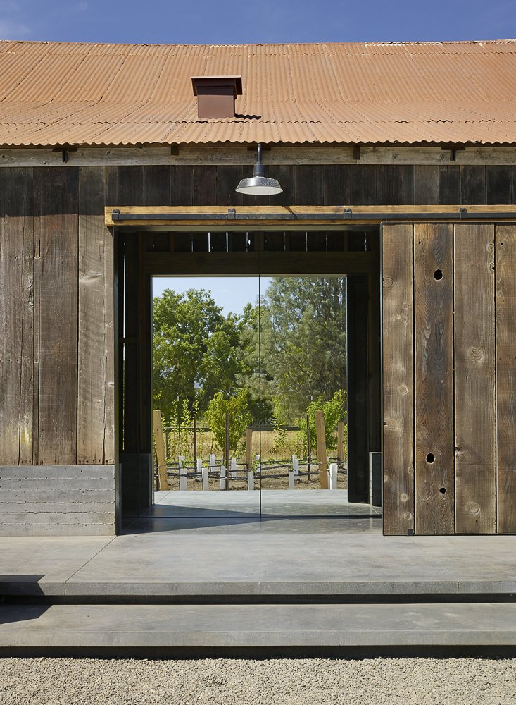 Tagged: Outdoor and Hanging Lighting.  Napa Vineyard Barn by Centric General Contractors