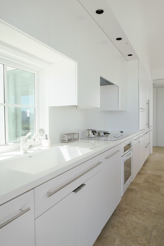 interior, kitchen Tagged: Kitchen and White Cabinet. The Birdhouse by Centric General Contractors