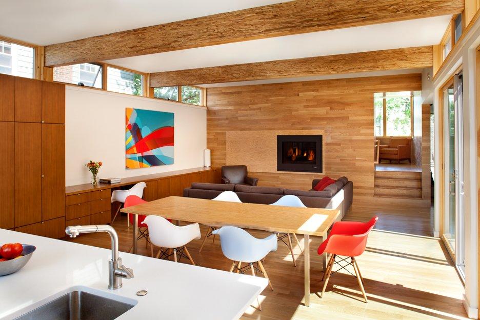 Oak Row House by Jeff Jordan Architects