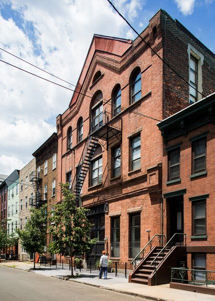 Existing front facade